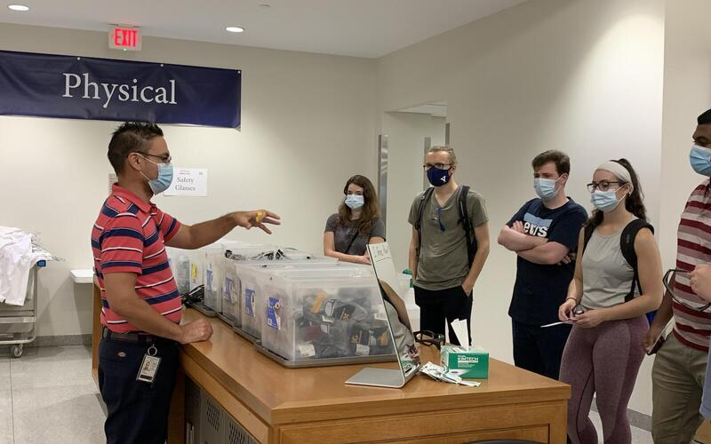 Safety Glasses Provided by Yale Environmental Health & Safety
